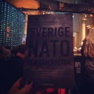 I förra veckan släpptes Natoutredningen på ett event på Nobelmuseet. Fler perspektiv och röster i debatten efterfrågades.
