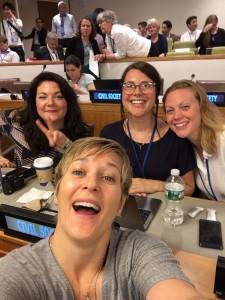 Vi är här med våra kollegor på Svenska Läkare mot Kärnvapen. Fantastisk dag!