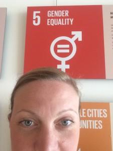 Gabriella är i FN och bevakar diskussionerna om Agenda 2030 och rapporterar vår syn på hur Sverige implementerar agendan.